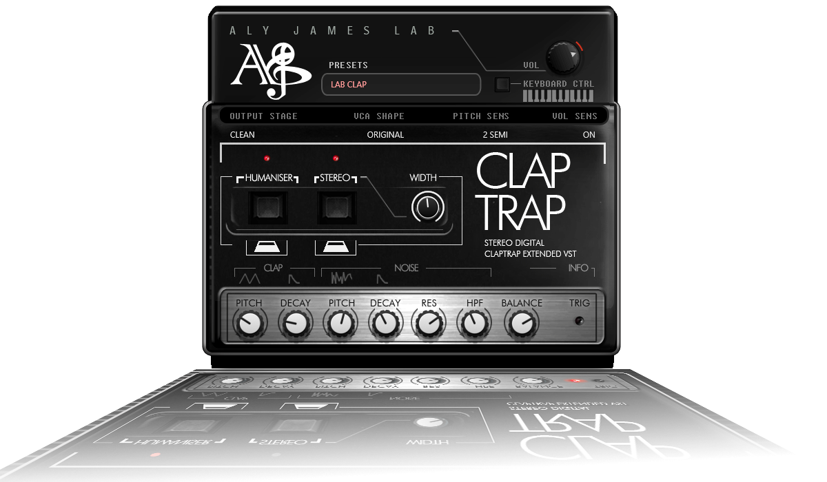 Simmons Claptrap VST plugin
